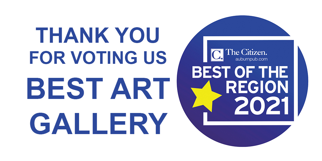 Thank you for voting us Best Art Gallery